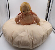 CAMPBELL'S ~ DOLLY DINGLE ~ HALF DOLL BED PILLOW ~ VINTAGE ~ OLD! ~ MUST SEE!