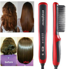 Hair Straight Styler Straightener Ionic Curler Curling Ceramics Styling Home CW