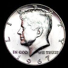 1967 Kennedy 40% Silver Half Dollar GEM BU FREE SHIPPING!