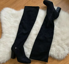 Guess Knee High Boots Black Women's Knee High Designer Boots Size 6.5 M