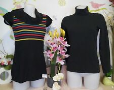 """Lot vêtements occasion femme - Pull """" Cache C. """" Sous Pull """" Esprit """"- T : 38"""