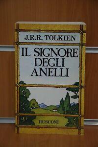 Il Signore degli Anelli + Mappa J.R.R. Tolkien Rusconi Ed.1992 Originale