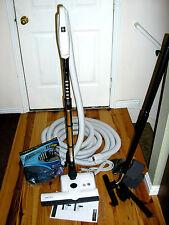 Central Vacuum 35 Foot Hose Accessory Kit Featuring Sebo ET-2 Carpet Power Head