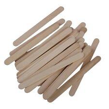 50x batons en bois de la couleur de bois naturel pour DIY de jouets a la ma Y5H3