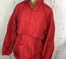 Vintage Woolrich Teton Jacket Windbreaker Packable Anorak Rain Coat Women Sz M