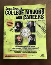 Quick Guide to College Majors and Careers (Excellent Reference)