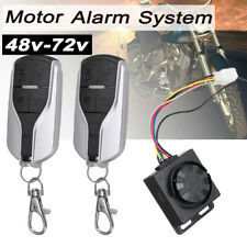 Motorcycle Scooter  Anti-theft Alarm Security System Remote Control Kit Set