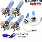 2x H7 H3 H7 55w HALOGEN HID XENON GAS FILLED BULBS upto 50% BRIGHTER Super White