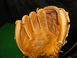 WILSON A2143 Baseball Leather Glove LHT WILBUR WOOD STUNNING! WHITE SOX GREAT!