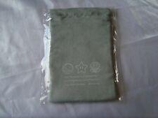 Club Nintendo Power Up Mario Grey Drawstring Pouch Bag Japan NEW