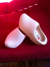 Dutch Wooden Clogs PLAIN size 35 = 23 cm many sizes available