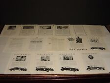 PACKARD  48  FULL PAGE  VINTAGE ORIGINAL NATIONAL GEOGRAPHIC PRINT ADS