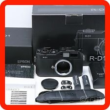 [BOXED EXC+++] EPSON R-D1 Leica M-mount Range Finder Digital Camera [from Japan]