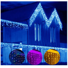 5-25 Meter Christmas Snowing Icicle Indoor Outdoor LED Fairy Lights Home Decor