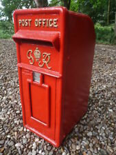Royal Mail Post Box GR Red Vintage Post Box RED GR Post Box Cast Iron