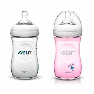 Philips Avent Newborn Baby Feeding Anti-colic Plastic bottle 260 ml / 9 oz 1m+