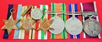 WW2 BRITISH ARMY OFFICERS MEDAL GROUP WOUNDED 1945 TROMANS RAMC