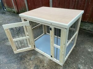 indoor dog kennel wooden dog crate delivery included depends on post code