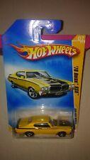 2009 Hot Wheels New Models '70 Buick Gsx #07/42 Yellow Variation #007/190