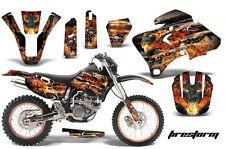 AMR Racing Yamaha WR 250/400/426F # Plate Graphic Kit MX Bike Decal 98-02 FIRE K