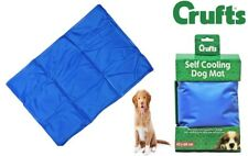 CRUFTS Cooling Mat Dog Puppy Self Cool Pet Non-Toxic Heat Relief Gel Mat S - XL