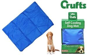 CRUFTS Cooling Mat Dog Puppy Self Cool Pet Non-Toxic Heat Relief Gel Mat S - XL