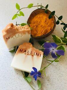 Turmeric Soap  - All Natural Handmade Turmeric & Honey Soap