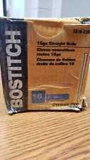 "BOSTITCH SB16-200 16 GAUGE 2"" STRAIGHT FINISHING NAILS  BOX 2500"
