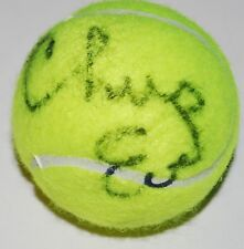 CHRIS EVERT signed (TENNIS) ball *WIMBLEDON* LAVAR CUP autographed W/COA
