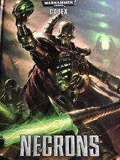 Warhammer 40K Necrons Codex 7th Edition