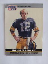 1989 Nfl Pro Set Terry Bradshaw Mvp Super Bowl Xiv #14 Collectible