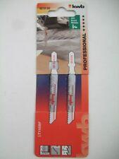 Stichsägeblätter T- Schaft BIM f.Metall mittel kwb Stichsäge 20 Stück