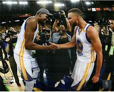 Steph Curry Kevin Durant 2017 NBA Champions Golden State Warriors Finals 8x10