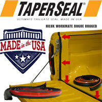 TAILGATE SEAL KIT TOYOTA HILUX WORKMATE ROGUE RUGGED UTE RUBBER DUST TAIL GATE