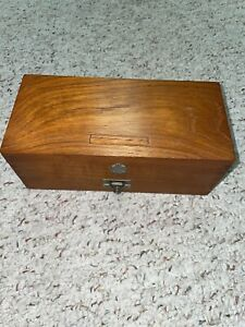 Nice Early Ambassadeur Wood Box for A Deluxe reel