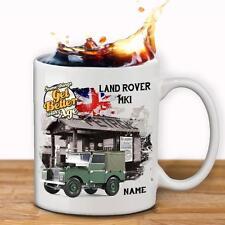 Personalised LAND ROVER MK1 Classic Car Mug Cup Dad Custom Gift - Add Name