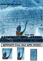 Enoch the Rad Presents - ARTIFACTS FOUND SURROUND vol 1- QUADRAPHONIC Reel Tape