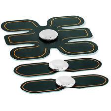 Bauchtrainer: 3-teiliges EMS-Muskeltrainer-Set für Bauch, Arme, Beine & Taille