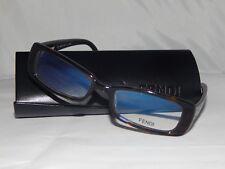 Fendi Glasses Frames (Genuine Product) - Brown Fendi Print -F906