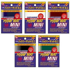 KMC HYPER MAT SLEEVES MINI JAPANESE SIZE YUGIOH SMALL CARD SLEEVES - 5 COLOURS!