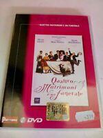 DVD QUATTRO MATRIMONI E UN FUNERALE