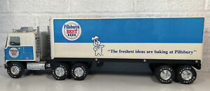 Nylint Pillsbury's Best GMC 18-Wheeler Semi Tractor Trailer Truck Pressed Steel