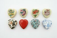 8 Heart Shaped Tins (including 3 candles and gift tags)