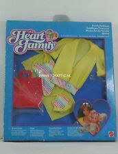 Barbie The Heart Family beach outfit fashion no. 2623 from 1985 by Mattel NRFB