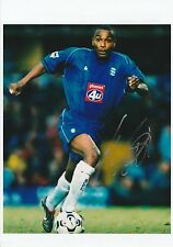 Clinton MORRISON Birmingham City 2002-2005 fotografia originale firmata a mano