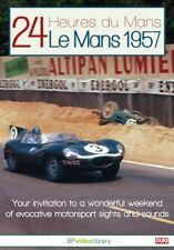 LE MANS 1957 REVIEW - Ecurie Ecosse Jaguar D-Type 3.8L S6 - 60 minute NEW DVD UK