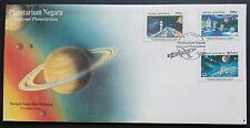 Malaysia 1994 National Planetarium 3v Stamps FDC (Melaka Cancellation) Lot B