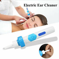 Electric Pocketsize Cordless compact Ear Wax painless vacuum ear cleaner