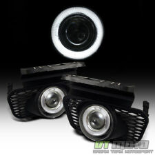 2003-2006 Chevy Silverado Avalanche LED Halo Projector Bumper Fog Lights+Switch
