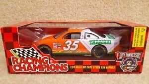 1998 Racing Champions 1:24 Diecast NASCAR Todd Bodine Tabasco Pontiac Orange #35